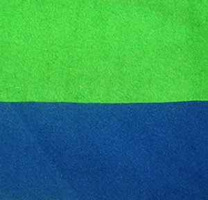 Wool 100% Chromakey – Blue/Green