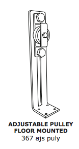 Floor Pulley – Adjustable