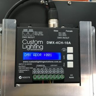 DMX 10KHZ 16BIT 4 x 10A  LED DECODER DMX 4CH Digital decoder