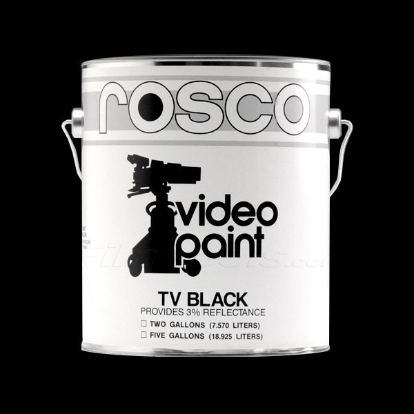 TV Black Paint
