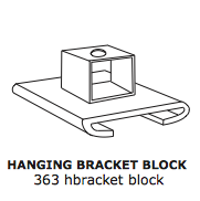 Hanging Bracket – Mounting Block