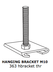Hanging Bracket – 10mm Threaded Rod