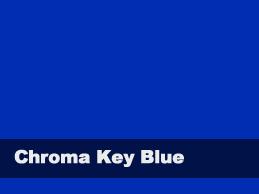 Chromakey Blue