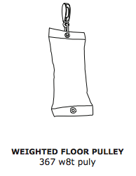 Floor Pulley – Weighted