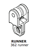 Single Runner – Nylon Ballbearing