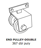 Double End Pulley